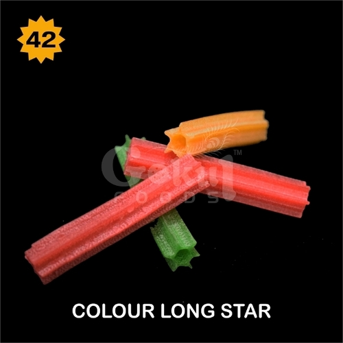 Color Long Star Fryums