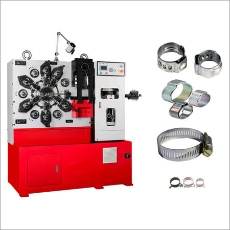Hose Clamp Forming Machine