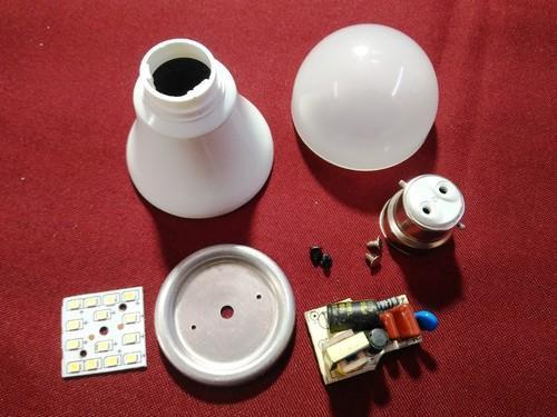 LED Bulb Spare Parts And Kit