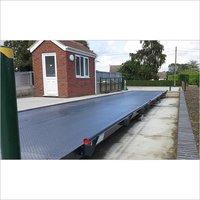 Surface mounted weighbridge