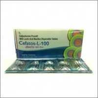 Cefpodoxime Proxetil With Lactic Acid Bacillus Dispersible Tablets
