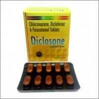 Chlorzoxazone Diclofenac & Paracetamol Tablets