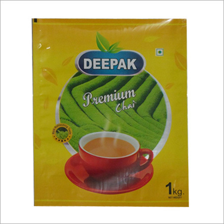 Laminated Tea Packaging Pouch