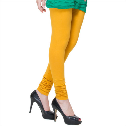 Super Fine Cotton Lycra With Ruby Cut Churidar Leggings