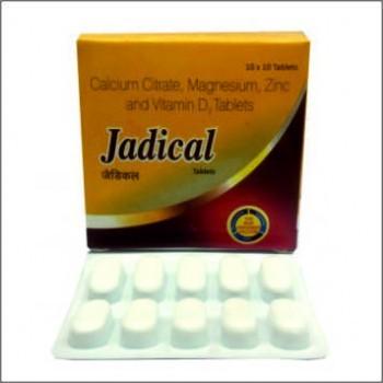 Calcium Citrate Magnesium Zinc Vitamin D3 Tablets Calcium