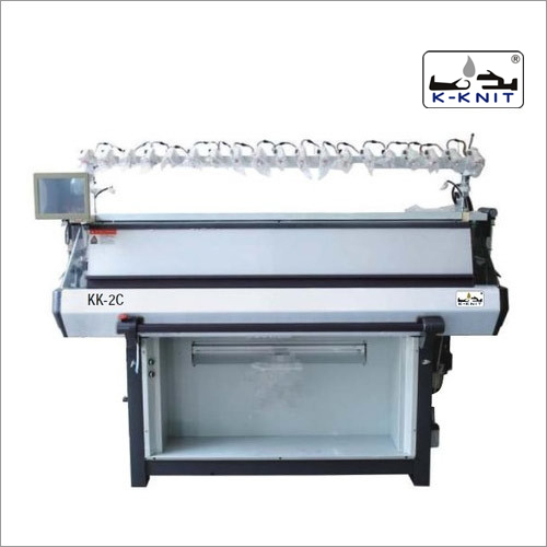 K-KNIT Computerized Flat Bed Knitting Machine : Double and Triple System