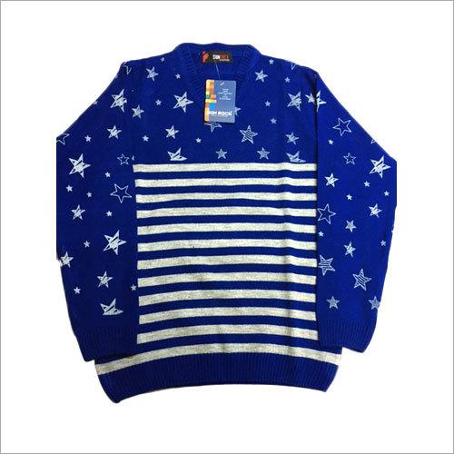 Men's Printed Pullover