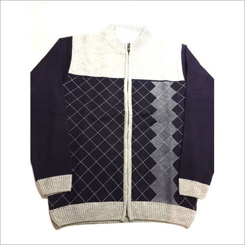 Men's Designer Zipper Pullover