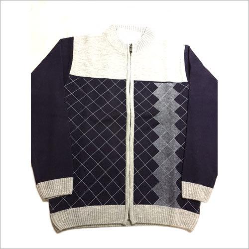 Men's Designer Zipper Pullover