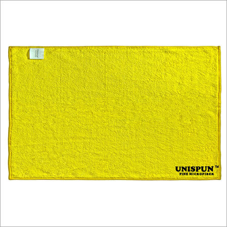 Microfiber Yellow Face Towel