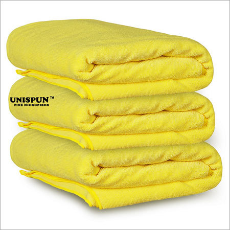 Microfiber Yellow Gym Towel