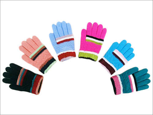 Kid's Jacquard Gloves