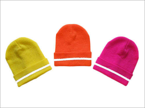 Beanies With Reflex Stripe