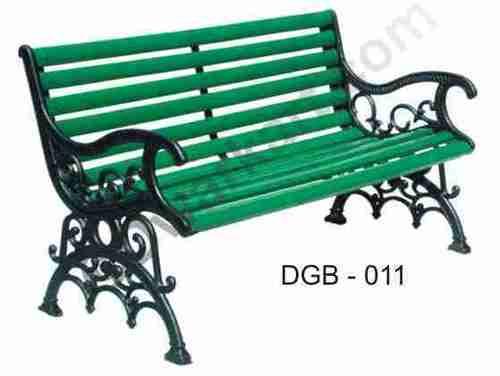 Garden Iron Bench
