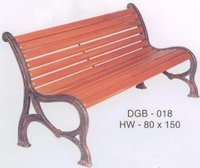 Roman Cast Iron Bench