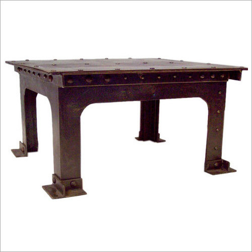 Industrial Square Table