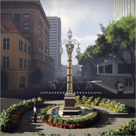 Big Lamp Posts
