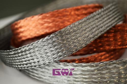 Copper Braided Strip