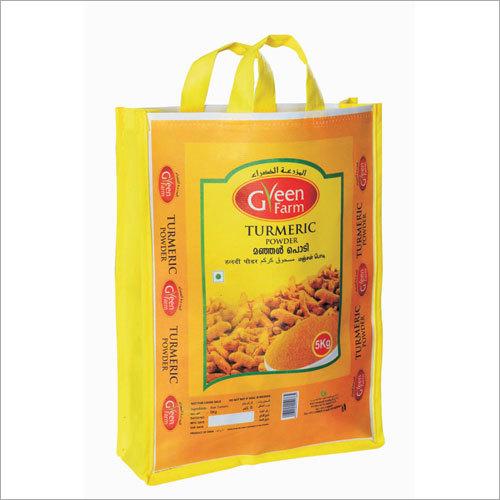 Food Grade Bags - Turmeric 5 Kg