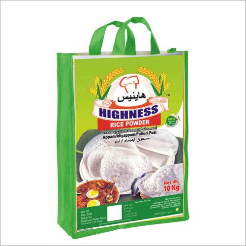 Food Grade Bags - Rice Power 10 Kg