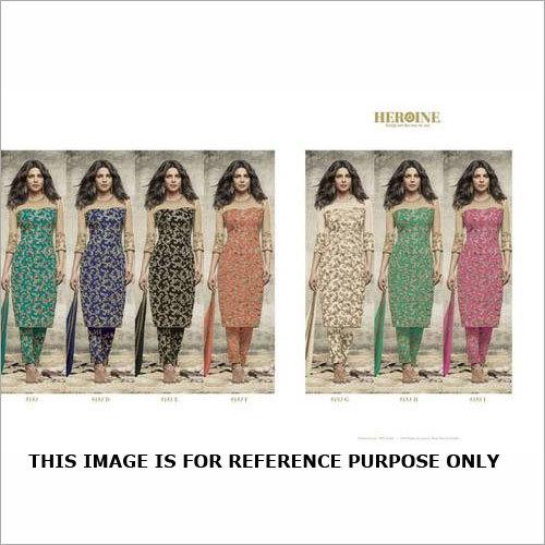 JDPL HEROINE Design Heavy Embroidery Salwar kameez