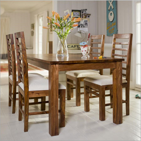 Sheesham Wood 4 Seater Dining set