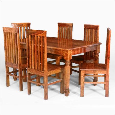Sheesham Wood 6 Seater Dining Set