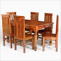Sheesham Wood 6 Seater Dining Set