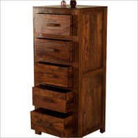Sheesham Wood 5 Chest Drawer