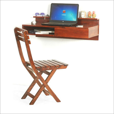 Wall Mounted Study Table Chair Set