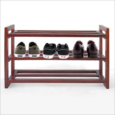 Solid Wood Shoe Storage Rack