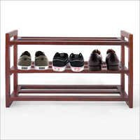 Solid Wood Shoe Storage Rack