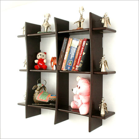 Decorative Wooden Wall Shelf