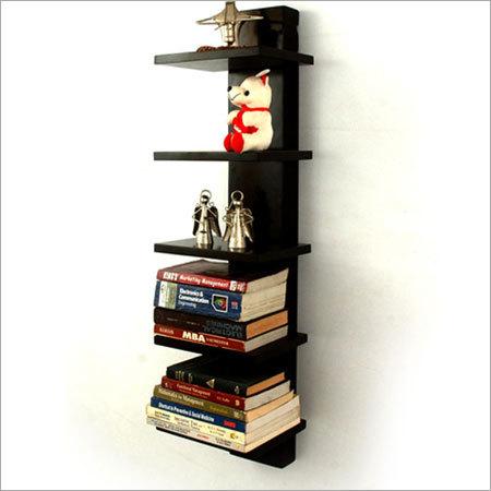 5 Rack Decorative Wooden Wall Shelf
