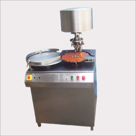 Vial Cap Sealing Machine With Turn Table