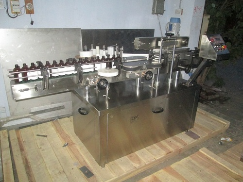 Sticker Labeling Machine - Top Bottom Sticker