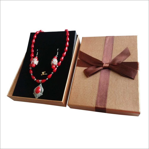 Necklace Packaging Cardboard Gift Box