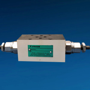 Pilot Operated Pressure Relief Valve Modular cons