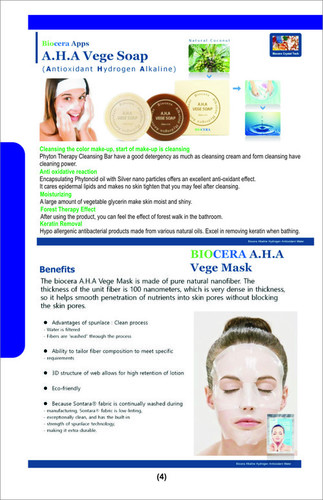BIOCERA VEGE SOAP & MASK