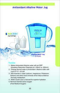 ALKALINE JUG WITH BIOCERA JUG CARTRIDGE