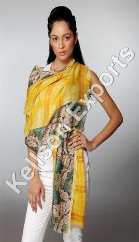 Printed Merino Wool Shawls