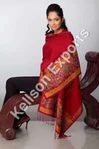 Patchwork shawls
