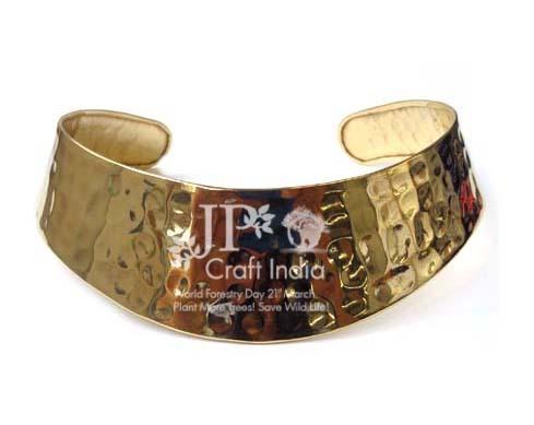 Brass Hasli Necklace