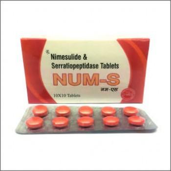 Nimesulide & Serratiopeptidase Tablets