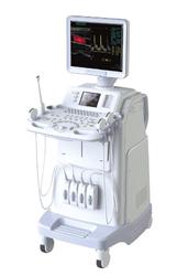 Doppler Ultrasound Machine Colored