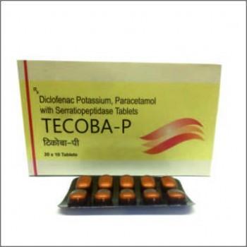 Diclofenac Potassium, Paracetamol with Serratiopeptidase Tablets