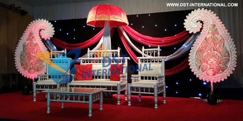 Wedding Sankheda Furniture Stage