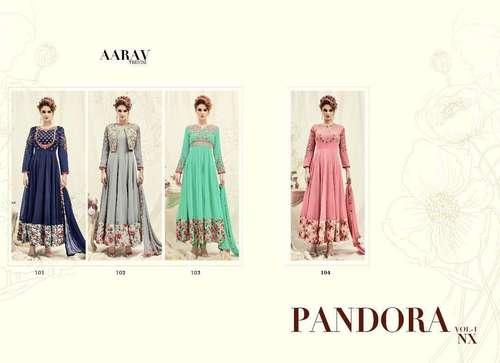 AARAV trendz Design Anarkali Salwae Kameez