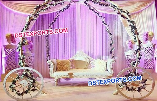Cinderella Wedding Stage