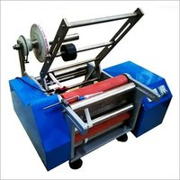 SEMI AUTOMATIC STICKER LABELLING MACHINE